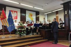 Koncert Orkiestry w Starostwie Powiatowym