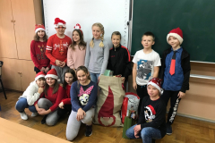 Mikołaj w klasie Va