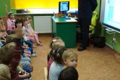 Służba Ochrony Kolei w przedszkolu