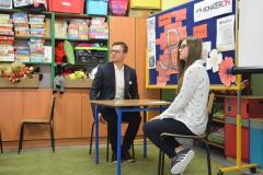 Spotkanie z Piotrem Kuśmierzakiem