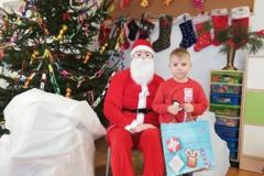 Wizyta Mikołaja u maluchów